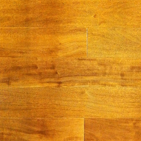 "Coterie Golden Maple 5/8"" x 3 1/2"" Solid Exotic Hardwood - American Fast Floors"