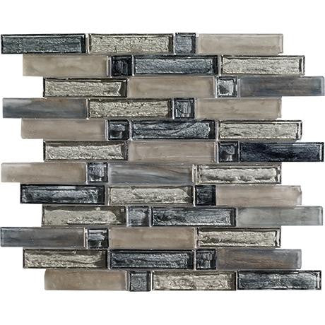 "Marazzi Caicos 12-1/2""x13"" Grace Beach Glass Mosaic"