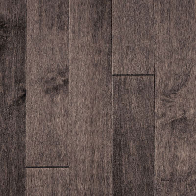 "Mullican Muirfield 5"" Maple Graphite Solid Hardwood"