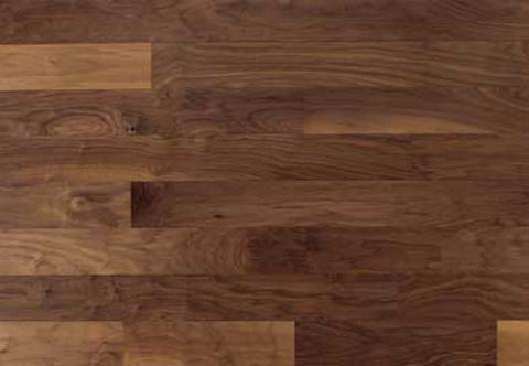 "Gunnison Uniclic Brown Sugar Walnut 5.25"" Engineered Hardwood"