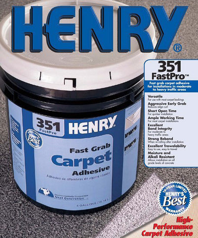 351 Fastpro Carpet Adhesive - 4 Gallon