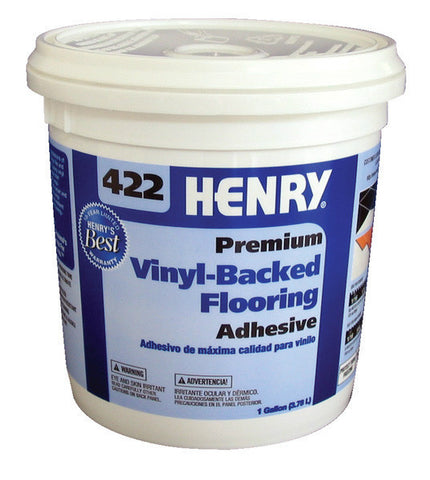 422 Premium Vinyl-Backed Flooring Adhesive - 1 Gallon