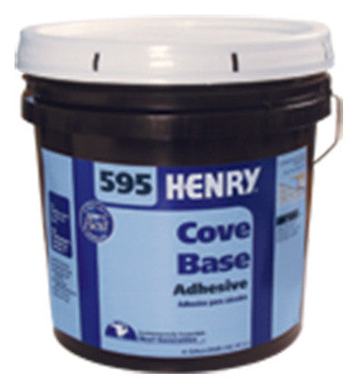 595 Non-Flammable Cove Base Adhesive - 4 Gallon