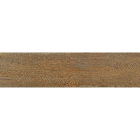 "Habitat 10""X40"" Rectified Sapeli Floor Tile"