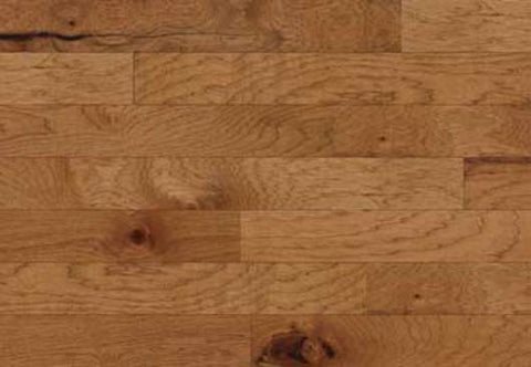 "Hayden Rustic Amber Hickory 5"" Engineered Hardwood"