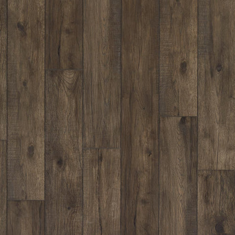 Mannington Restoration Wide Plank Collection Hillside Hickory Coal - American Fast Floors