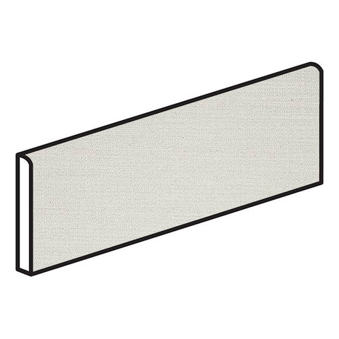 American Olean Infusion 4 x 12 White Bullnose - Fabric