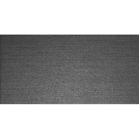 American Olean Infusion 12 x 24 Black Floor Tile - Fabric
