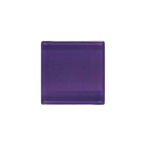 "Daltile ISIS 7/8"" x 7/8"" Mystical Grape Mesh Mounted Solid Mosaic"