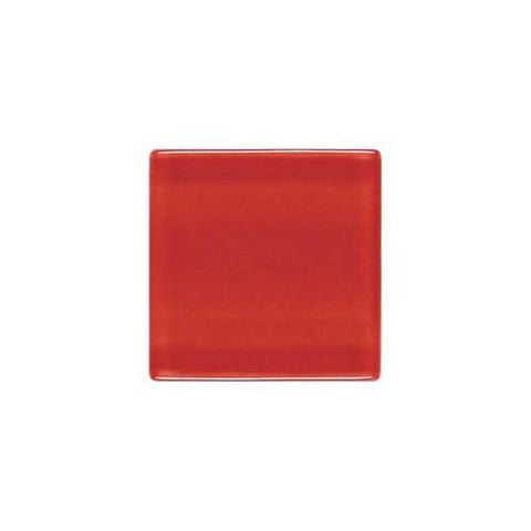"Daltile ISIS 7/8"" x 7/8"" Candy Apple Red Mesh Mounted Solid Mosaic"