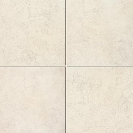 "Marazzi Stone Collection 12""x12"" Ivory Rectified Modular Tile"