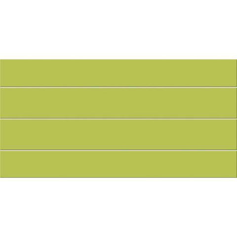 "Daltile Gallery 11-11/16"" x 23-1/2"" Lime Floor Body Grooves Accents"