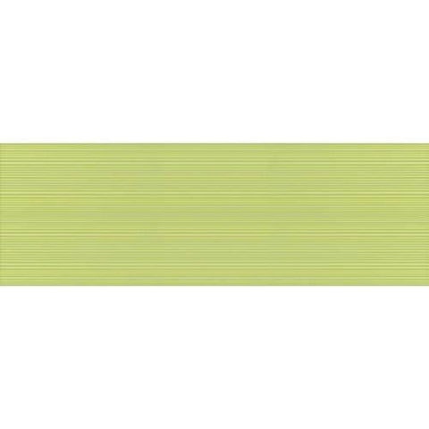 "Daltile Gallery 11-11/16"" x 35-1/4"" Lime Wall Body Ruled Accents"