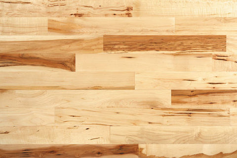 "Jefferson Maple Natural Maple 3.25"" Solid Hardwood"
