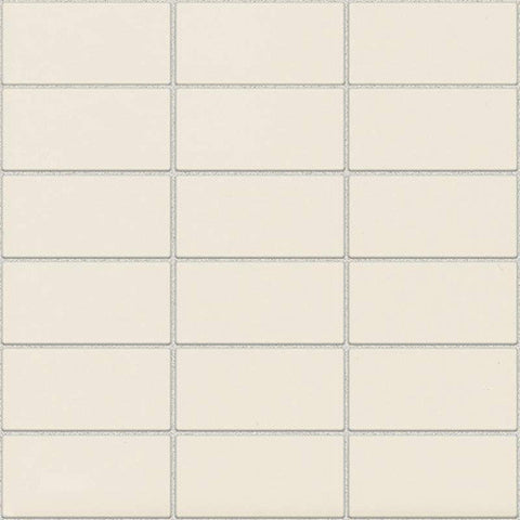 Daltile Modern Dimensions Gloss Biscuit 2 x 4 Straight-Joint Mosaic