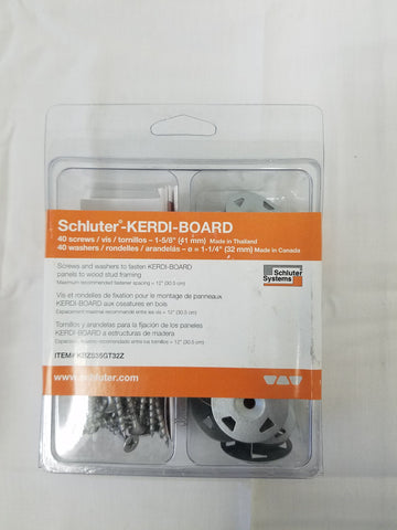 Schluter Kerdi Board ZS 1 58 Wood Framing Screw Qty 200