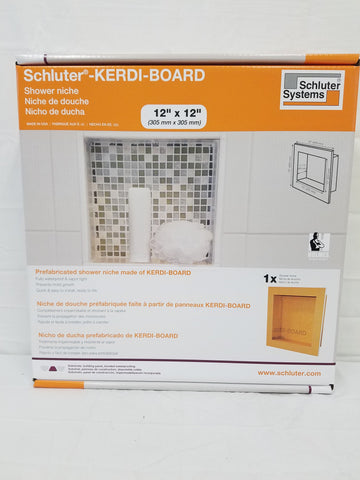 Schluter Kerdi Board Sn Prefabricated Shower Niche 12x12