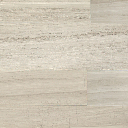 "Daltile Limestone 3"" x 8"" Chenille White Vein Cut Honed Field Tile - American Fast Floors"