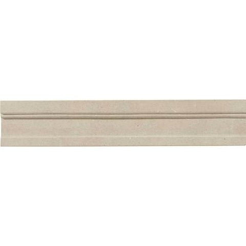 Daltile Limestone Touques Gris Modern Honed Chair Rail