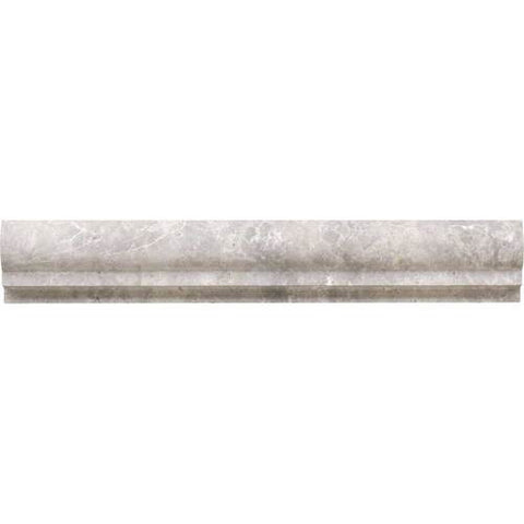 Daltile Limestone Siberian Tundra Honed Chair Rail