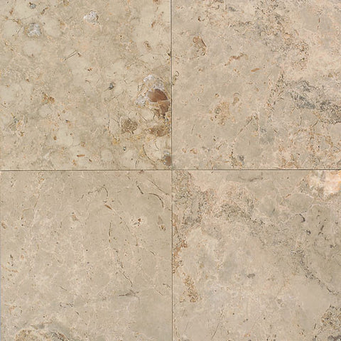 "Daltile Limestone 18"" x 18"" Napolina Honed Field Tile"