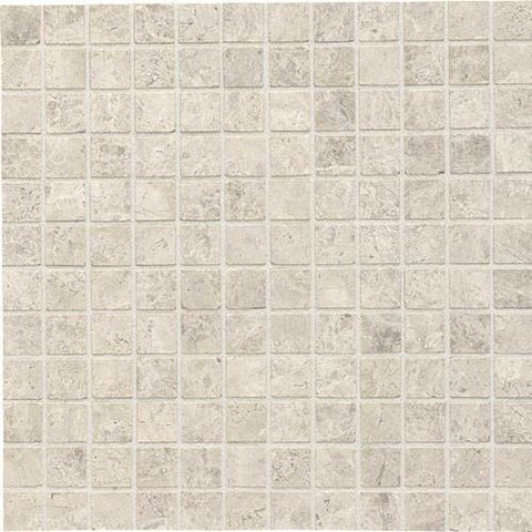 Daltile Limestone Martinique Arctic Gray Honed Mosaics - American Fast Floors