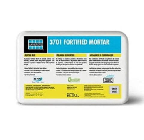 Laticrete 3701 Fortified Mortar Bed  (GREY/60LB/27.3KG)