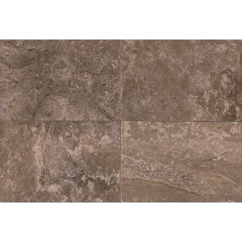 American Olean Laurel Heights 12 x 24 Brown Pinnacle Floor Tile - American Fast Floors