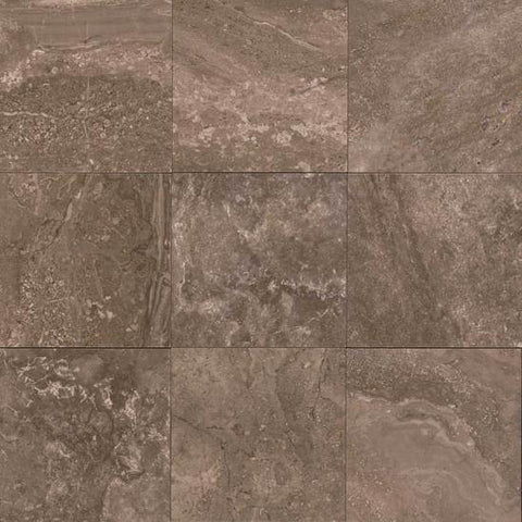 American Olean Laurel Heights 12 x 12 Brown Pinnacle Floor Tile