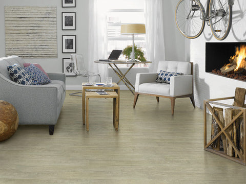 "Tarkett LVT Crossroads 6"" Plank Medium Pine - American Fast Floors"