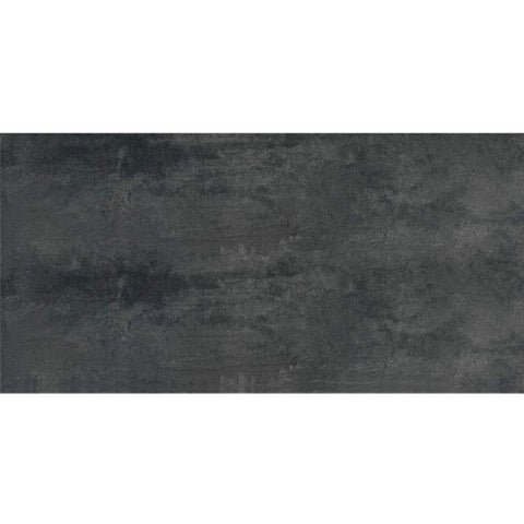 "Lavagna 12""X24"" Rectified Negro Floor Tile - American Fast Floors"