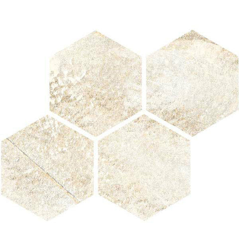 "Legend 12""X12"" Arena Glazed Hexagon Mosaic - American Fast Floors"