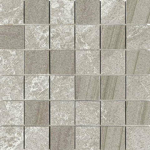 "Legend 12""X12"" Vison Glazed Mosaic - American Fast Floors"