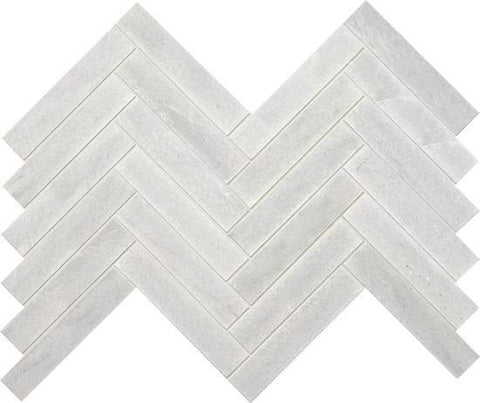 American Olean Ascend Candid Heather 1 X 6 Chevron Mosaic