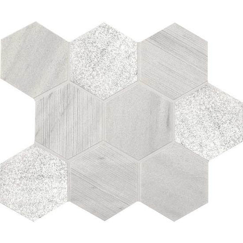"American Olean Ascend Candid Heather 4"" Hexagon Mosaic"