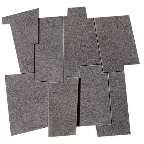 "Marazzi Soho 12""x12"" Anthracite Decorative Modulo - American Fast Floors"