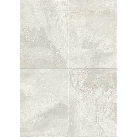 Daltile Marble Falls 10 x 14 White Water Wall Tile