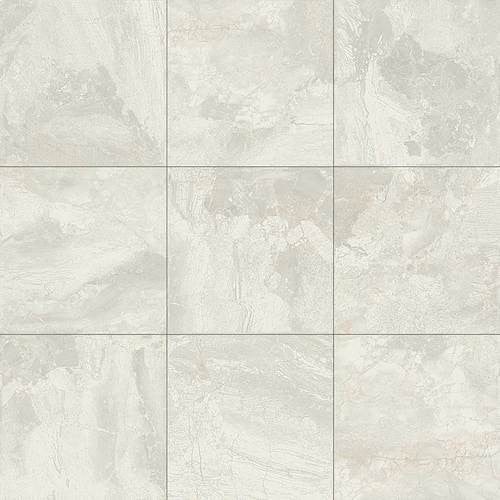 "Daltile Marble Falls 4-1/4 x 8-1/2 White Water Wall Bullnose - 8"" Side - American Fast Floors"