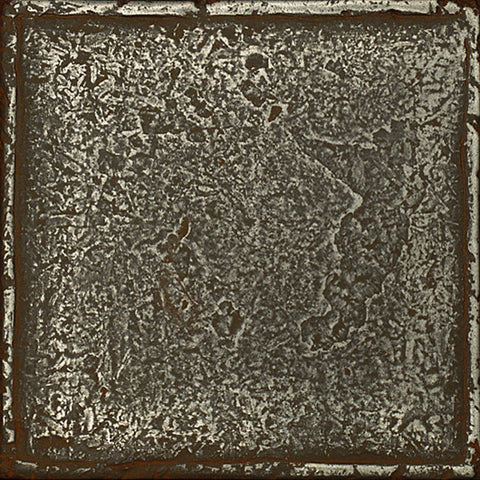 Daltile Metal Signatures 6 x 6 Aged Iron Chateau Field Tile