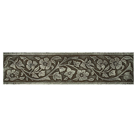 Daltile Metal Signatures 3 x 12 Aged Iron Jardin Border
