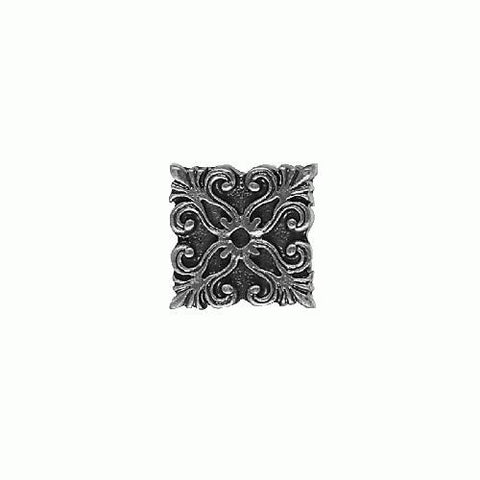 Daltile Massalia 1 x 1 Pewter Frieze Button