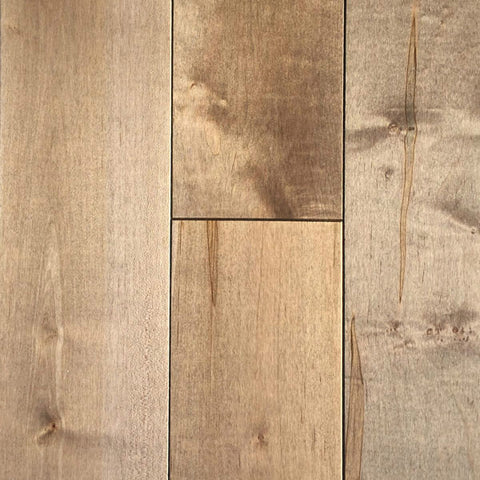 "Mullican Castillian 5"" Maple Maple Taupe Solid Hardwood"