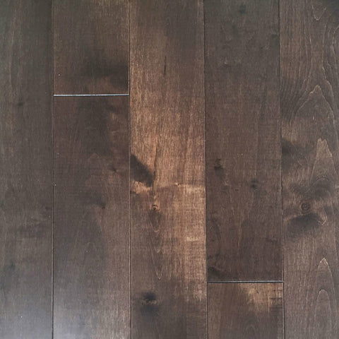 "Mullican Castillian 5"" Maple Maple Truffle Solid Hardwood"