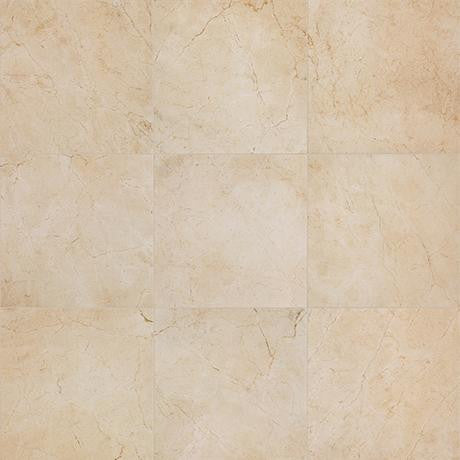 "Marazzi Timeless Collection 20""x20"" Marfil Cream Rectified Floor Tile"