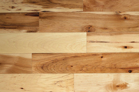 "Monroe Hickory Natural Hickory 2.25"" Solid Hardwood - American Fast Floors"