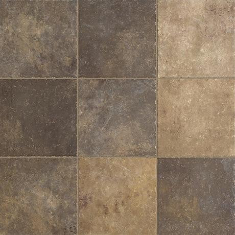 "Marazzi Walnut Canyon 13""x13"" Multi Mesh Mounted Square Mosaic - American Fast Floors"