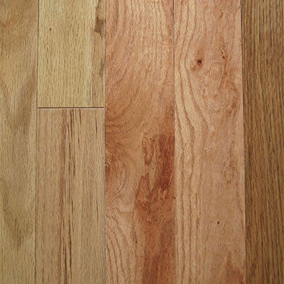 "Mullican Oak Pointe 3"" Red Oak Natural Solid Hardwood - American Fast Floors"