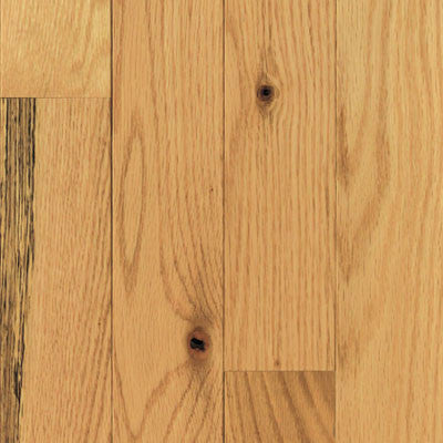 "Mullican Quail Hollow 2-1/4"" Red Oak Natural Solid Hardwood"