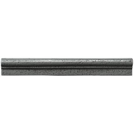 "Marazzi Romance Collection 1-1/2""x13"" Nickel Chair Rail"