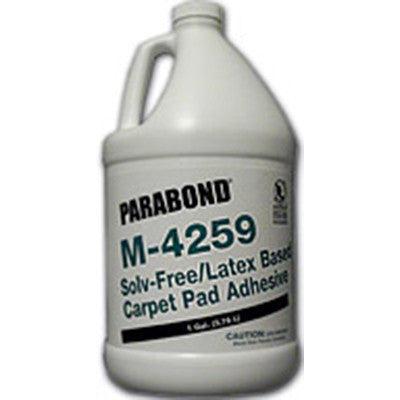 M-4259 Solv-Free Latex-Based Carpet Pad Adhesive - 1 Gallon - American Fast Floors